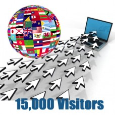 Global Traffic - 15000 visitors