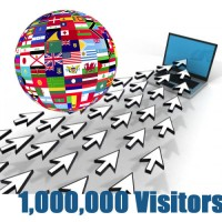 Global Traffic - 1,000,000 visitors