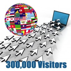 Global Traffic - 300,000 visitors